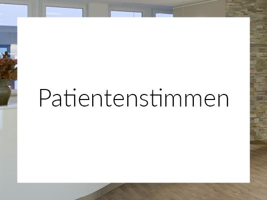 Patientenstimmen