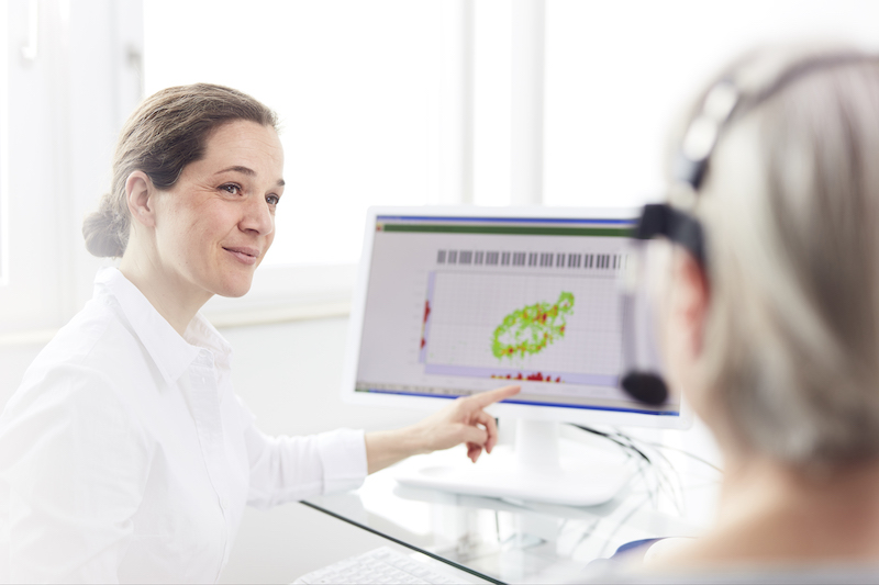 Stimmfeldmessung MEDICAL VOICE CENTER