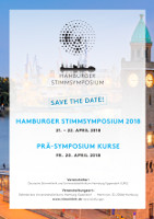 Flyer Hamburger Stimmsymposium 2018