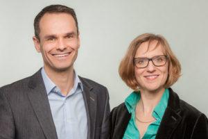 Wiltrud Föcking und Marco Parrino