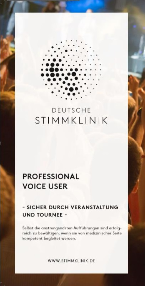 Flyer: Professional Voice User
