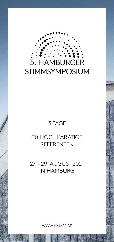 Hamburger Stimmsymposium Flyer