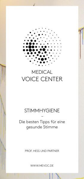 Stimmhygiene-Flyer