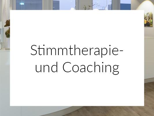 Stimmtherapie Coaching